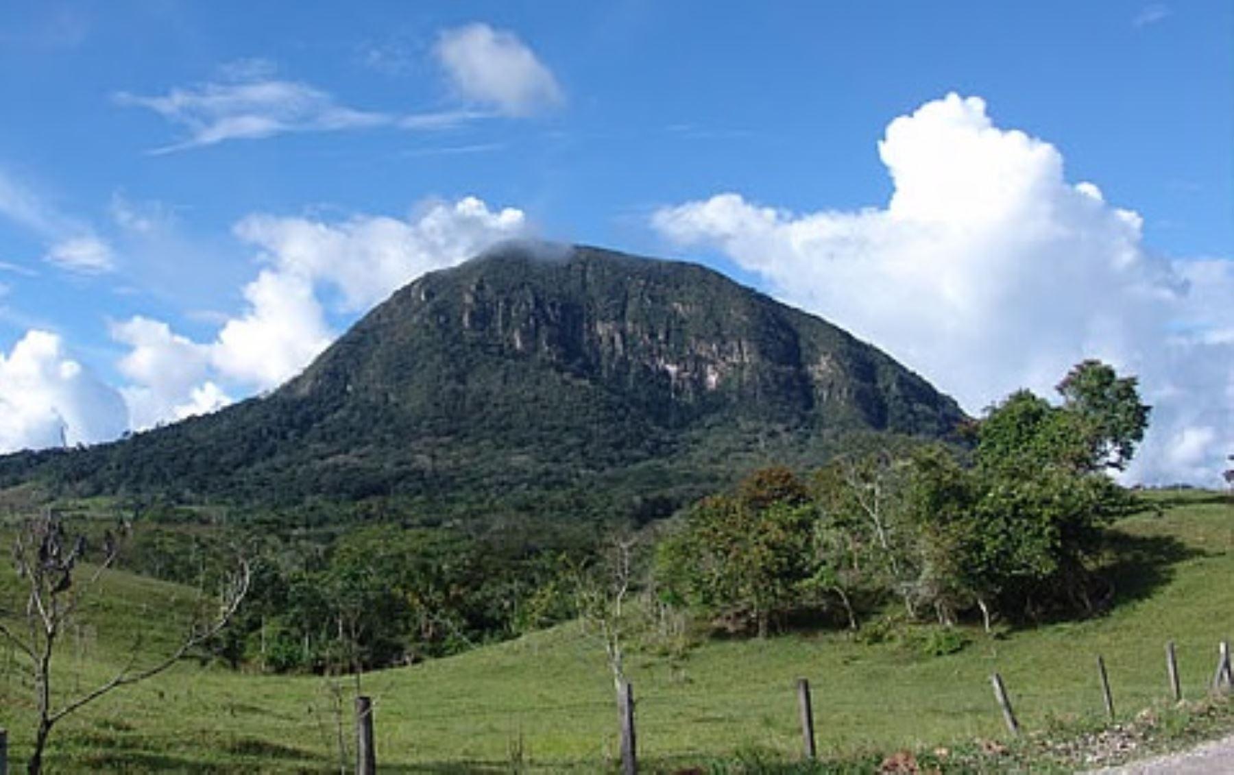 Morro de Calzada, en la ciudad de Moyobamba, región San Martín. Foto: Dirección Regional de Turismo de San Martín.