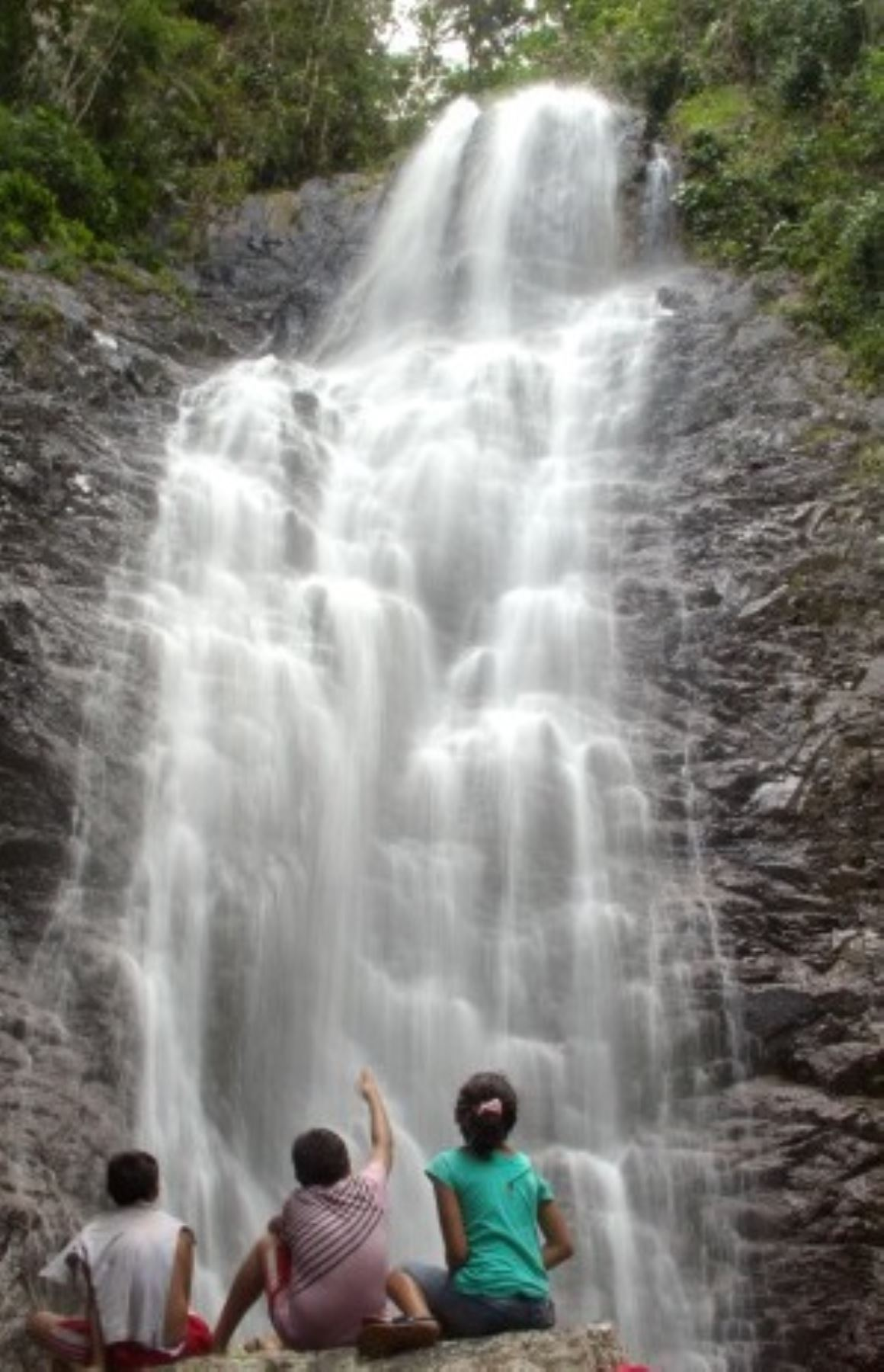 Cascada de Ishanga, en la provincia de Tocache, región San Martín. Foto: Dirección Regional de Turismo de San Martín.