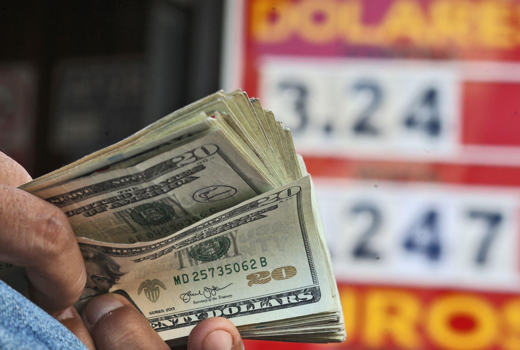 Dólares. Foto: ANDINA/Difusión