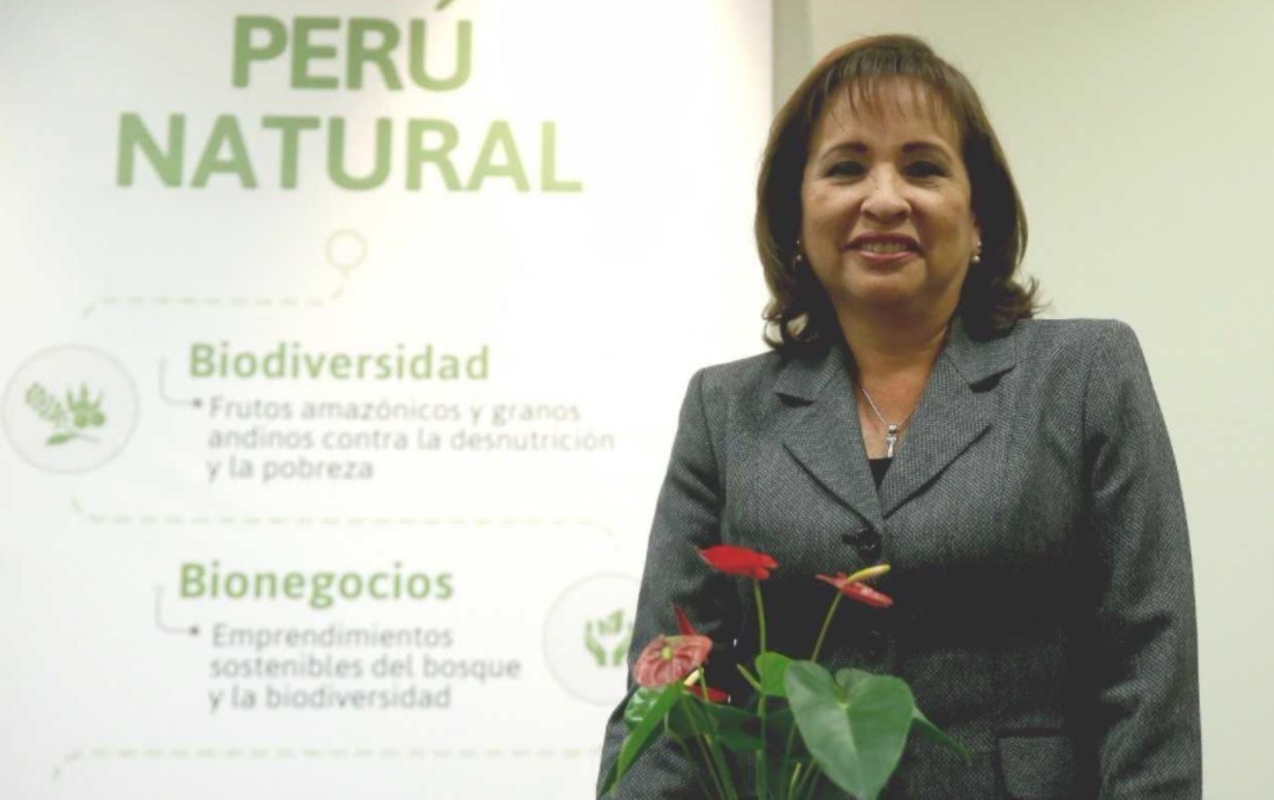 Ministra del Ambiente, Elsa Galarza. ANDINA/Difusión