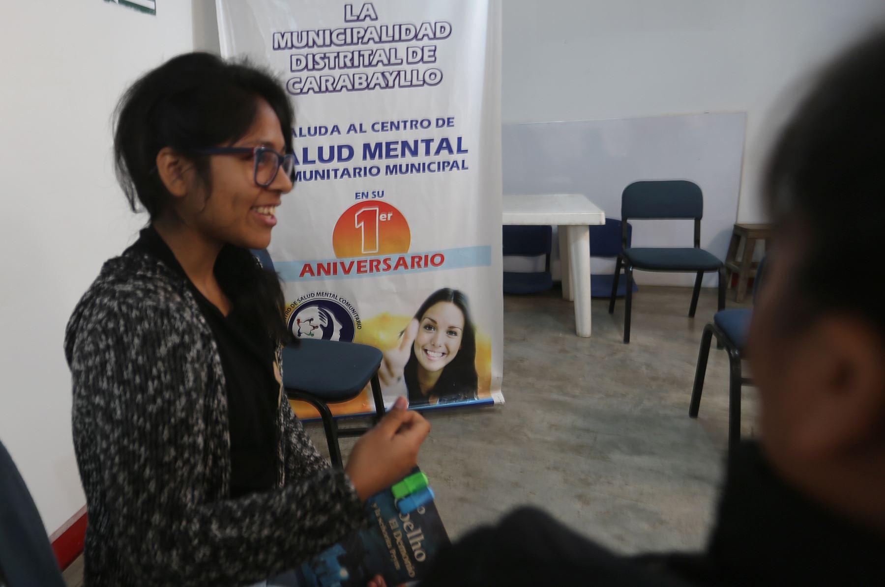 La presencia de centros de salud mental comunitaria garantiza a las familias la cercanía a un servicio especializado. ANDINA/Jhony Laurente