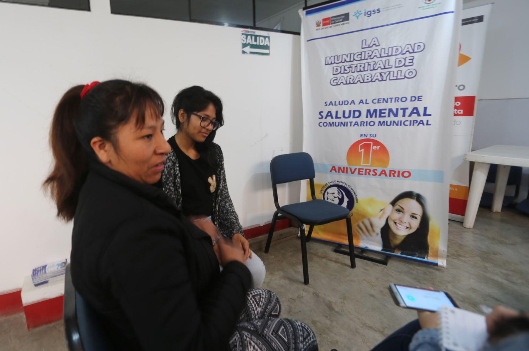 El Ministerio de Salud anuncia que al 2021 creará más de 280 centros de salud mental en el país. ANDINA/Jhony Laurente