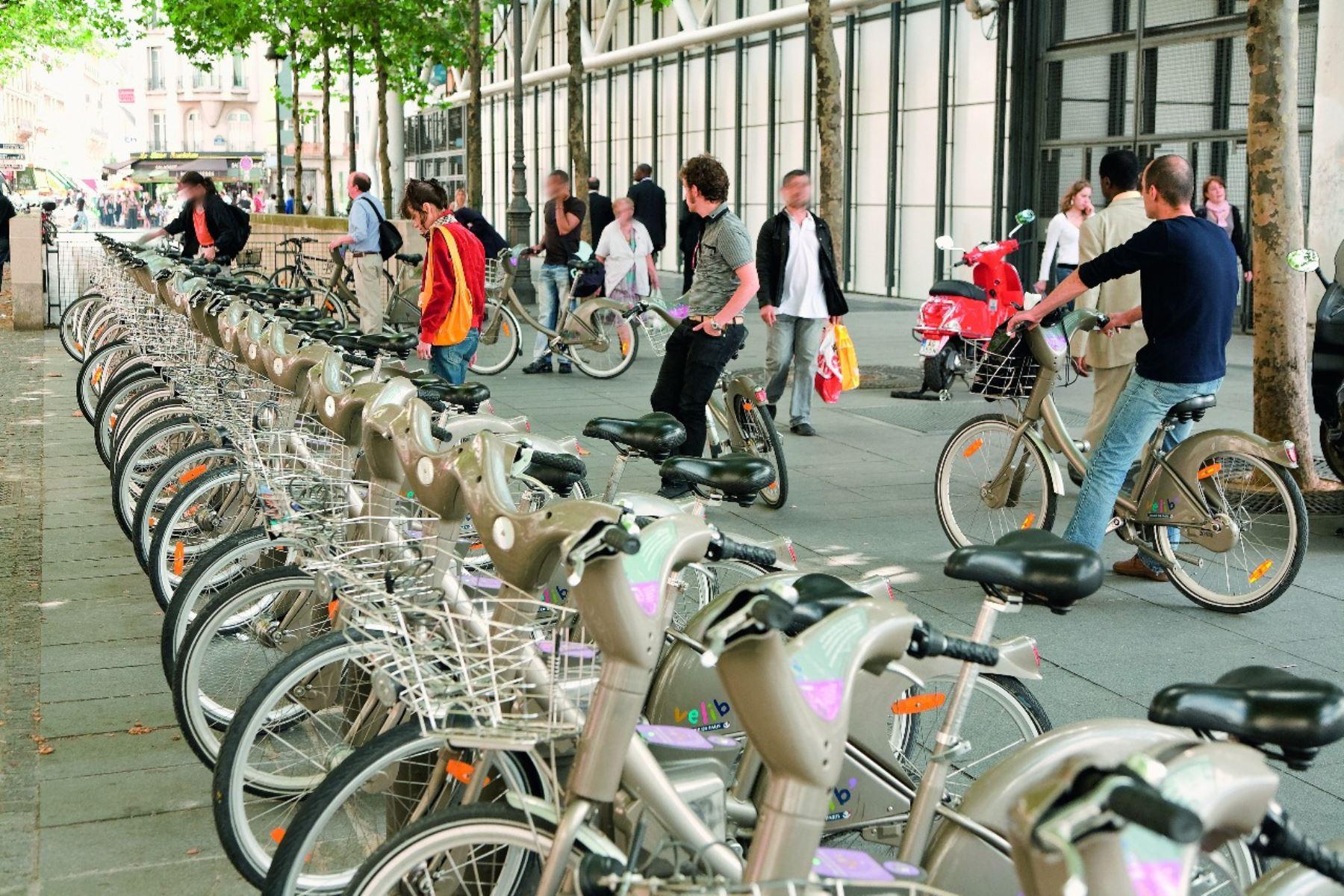 Estacionamientos para bicicletas. Foto: ANDINA/Difusión.