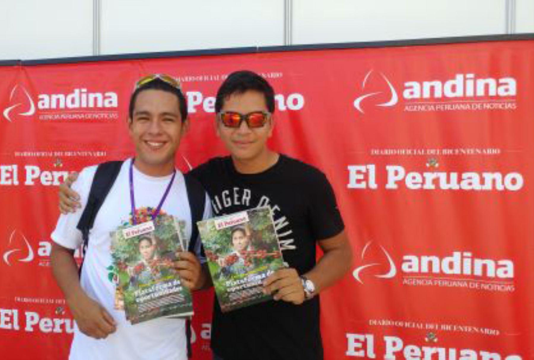 ExpoAmazónica 2017: Revista de El Peruano tuvo gran acogida del público