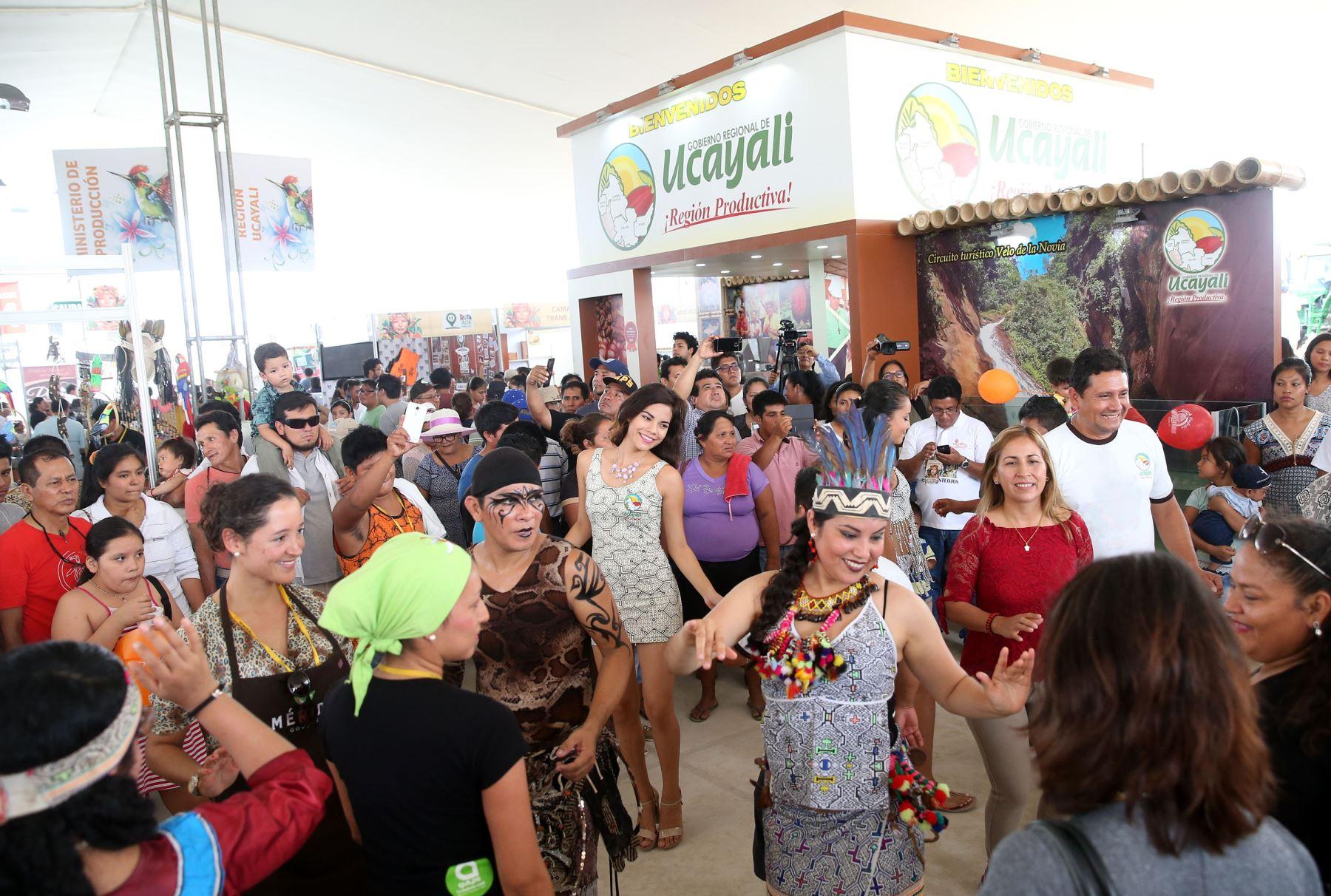 Expo Amazónica 2018 se realizará del 9 al 12 de agosto, en el campo Ferial Yarinacocha, en Pucallpa. ANDINA/Vidal Tarqui