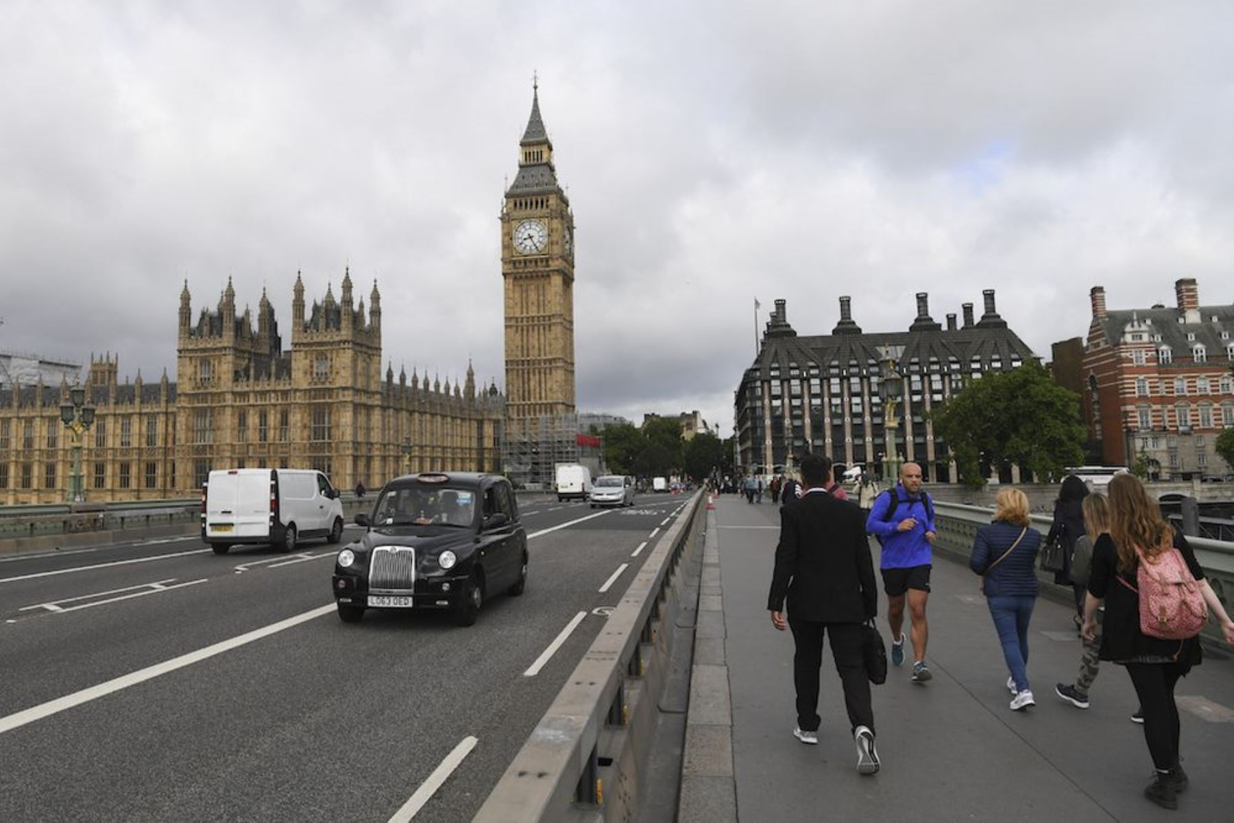 El Big Ben de Londres Foto: AFP