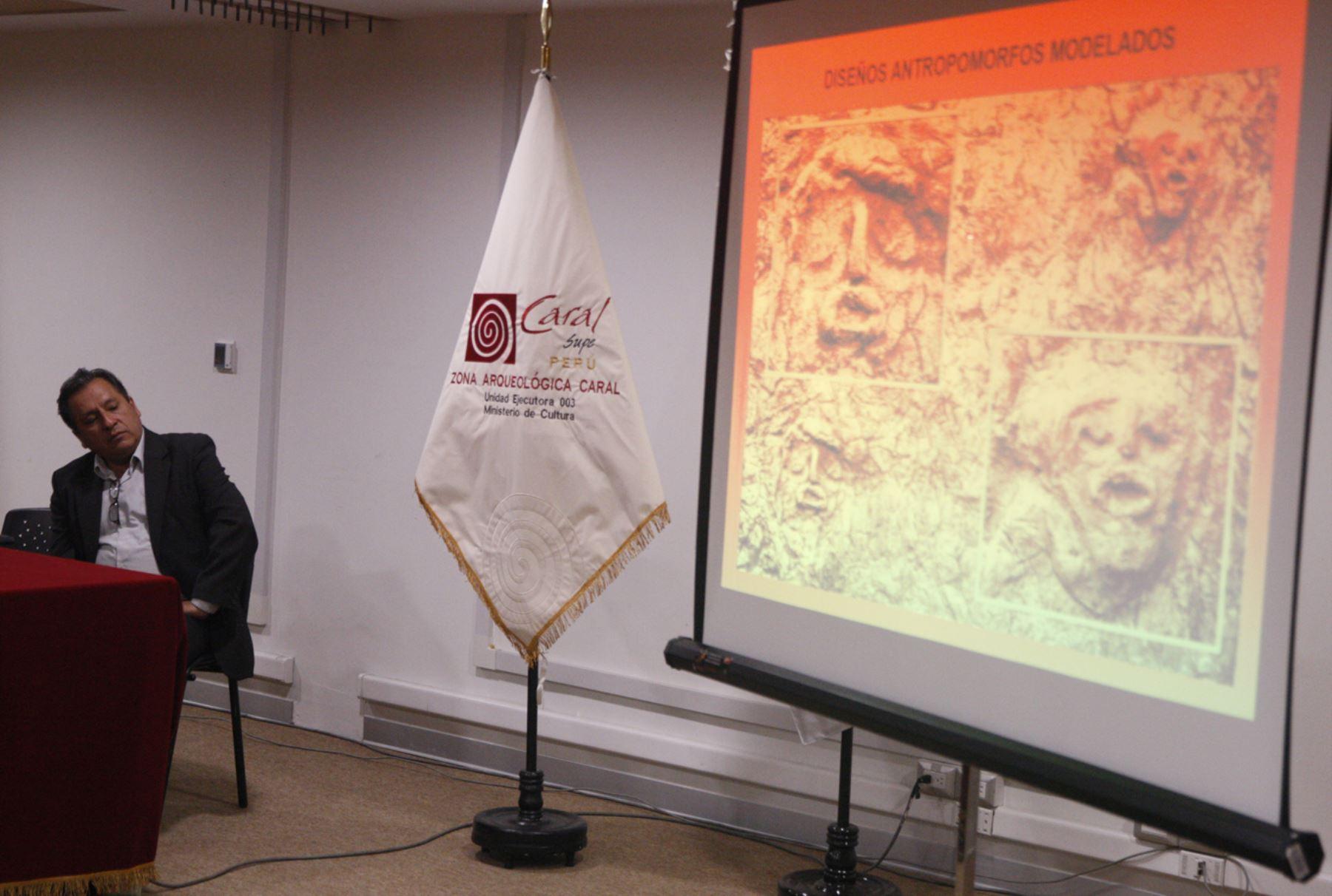 Directora de la Zona Arqueológica Caral, Ruth Shady Solís, informó que las investigaciones en el sitio arqueológico Vichama revelan efectos del cambio climático en Perú hace 1,800 años. ANDINA/Eddy Ramos
