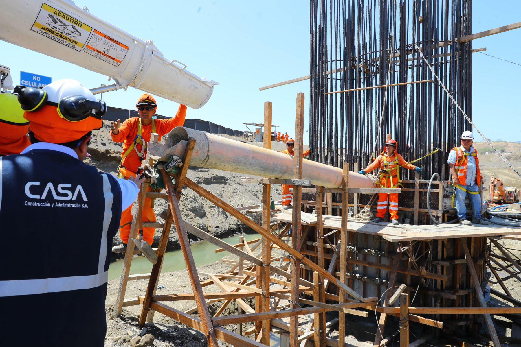 Construcción del puente Venados en la provincia de Sullana, región Piura, demandará inversión superior a 50 millones de soles. ANDINA/Prensa Presidencia