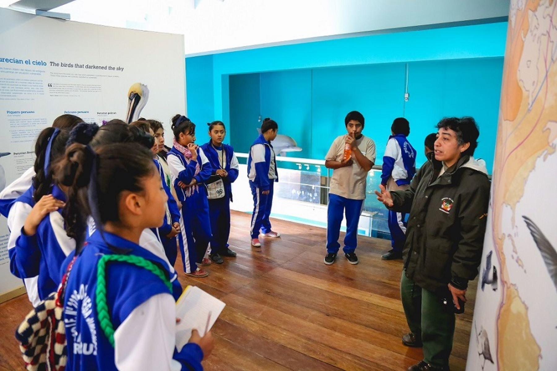 Más de 360 niños de las instituciones educativas del distrito de Paracas y San Andrés, provincia de Pisco, formarán parte de los talleres de capacitación para convertirse en miniguardaparques de la Reserva Nacional de Paracas (Ica), informó el Servicio Nacional de Áreas Naturales Protegidas por el Estado (Sernanp).