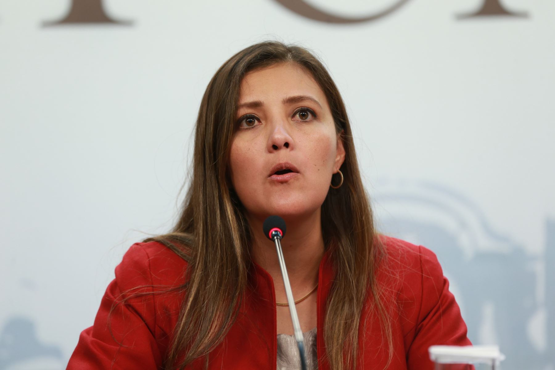 Gobernadora regional de Arequipa, Yamila Osorio. ANDINA/Dante Zegarra