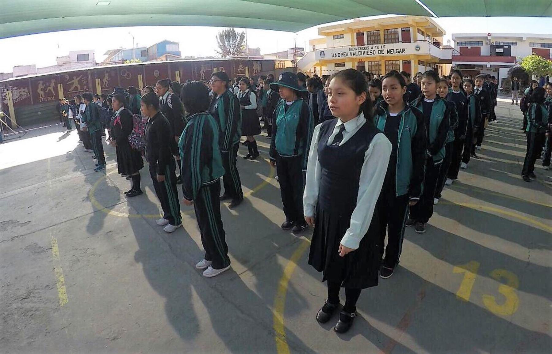 Arequipa suspende labores escolares por paro en apoyo al valle de Tambo. ANDINA/Difusión