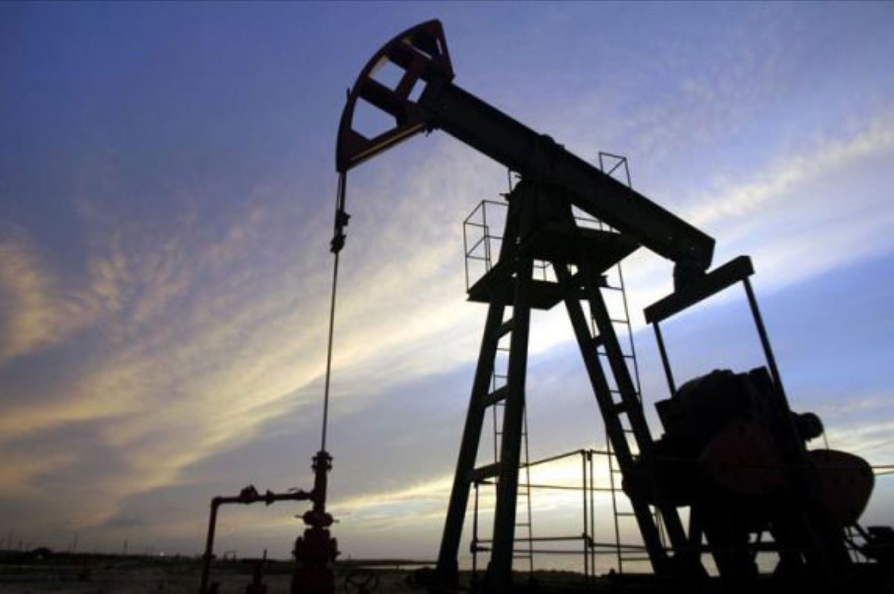 Producción de petróleo. ANDINA/Difusión