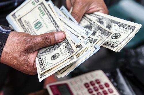 Dólar. ANDINA/Difusión