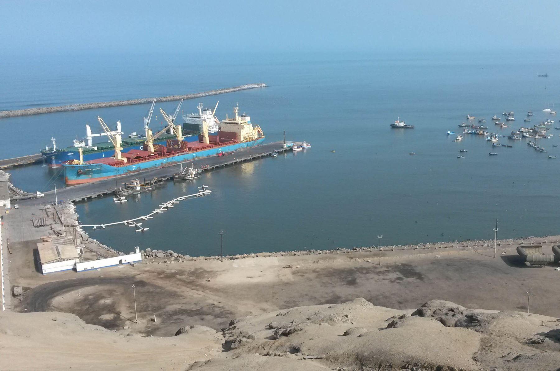 Puerto de Salaverry. ANDINA/Difusión