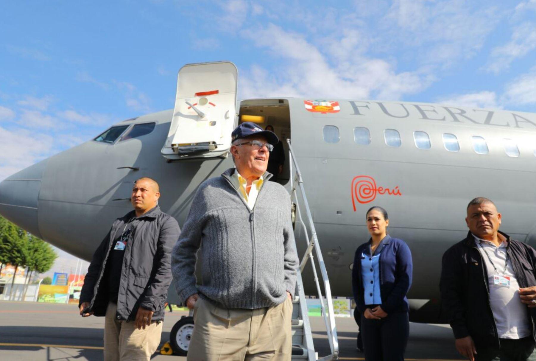 Presidente Pedro Pablo Kuczynski y ministra Galarza se dirigen a Huancaya (Yauyos) para lanzamiento de Fábricas del Agua. Foto: ANDINA/ Difusión