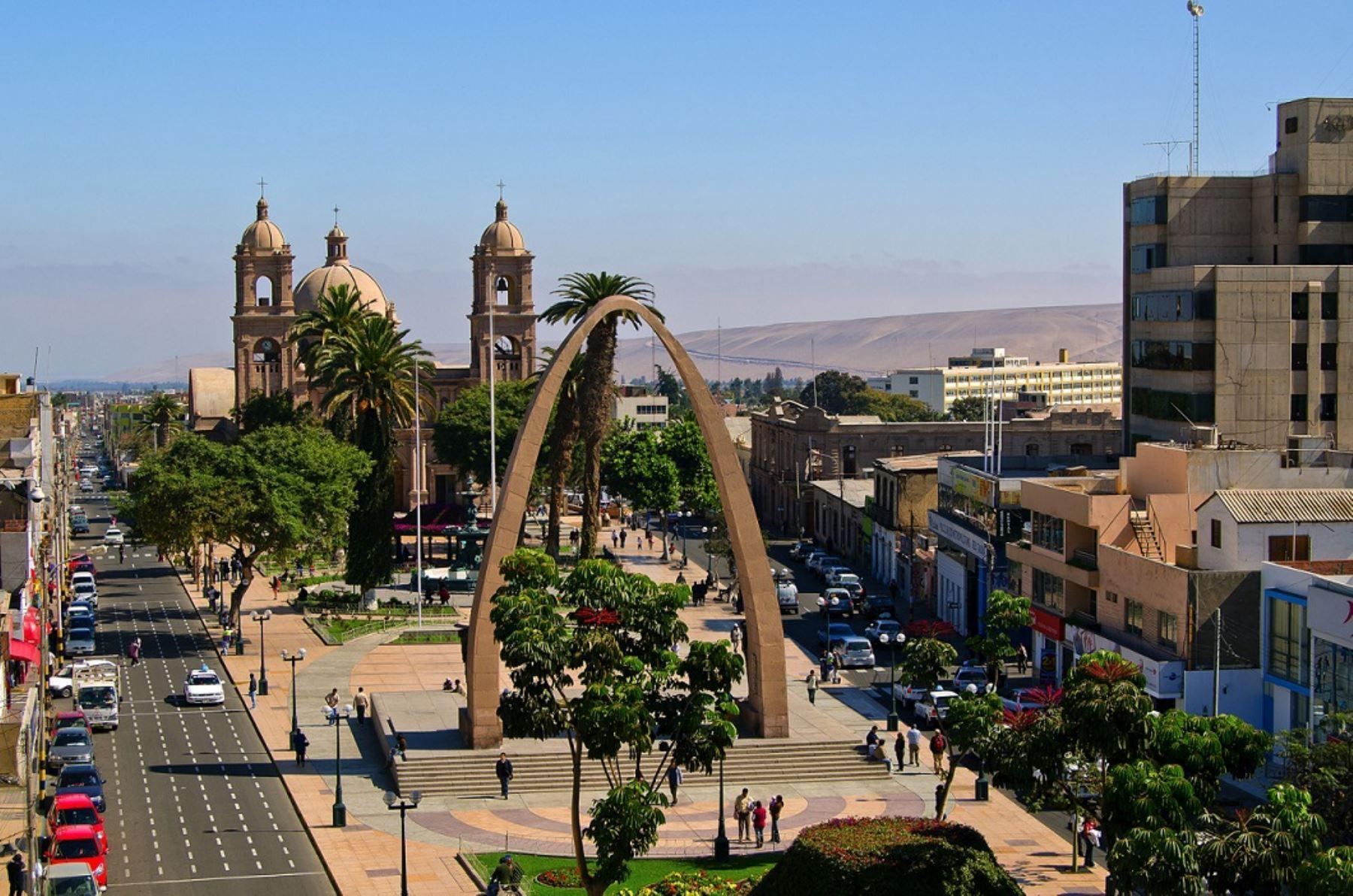 Ciudad de Tacna. ANDINA/Difusión