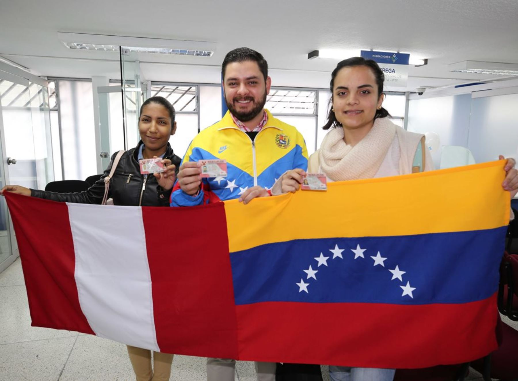Inmigrantes venezolanos en el Perú. Foto: ANDINA/Difusión.