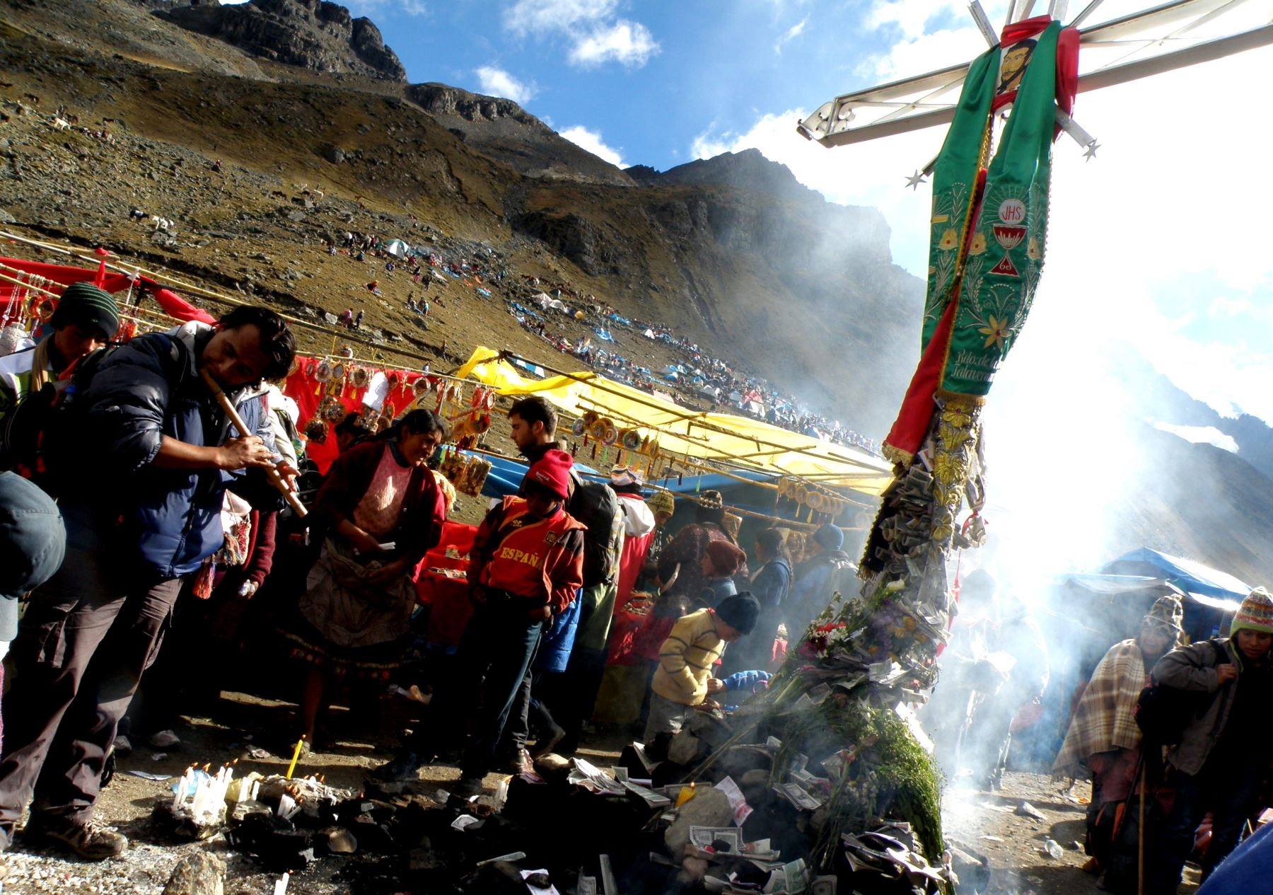 Presentan actividades por festividad del Señor de Qoyllur Riti en Cusco. ANDINA/Percy Hurtado Santillán