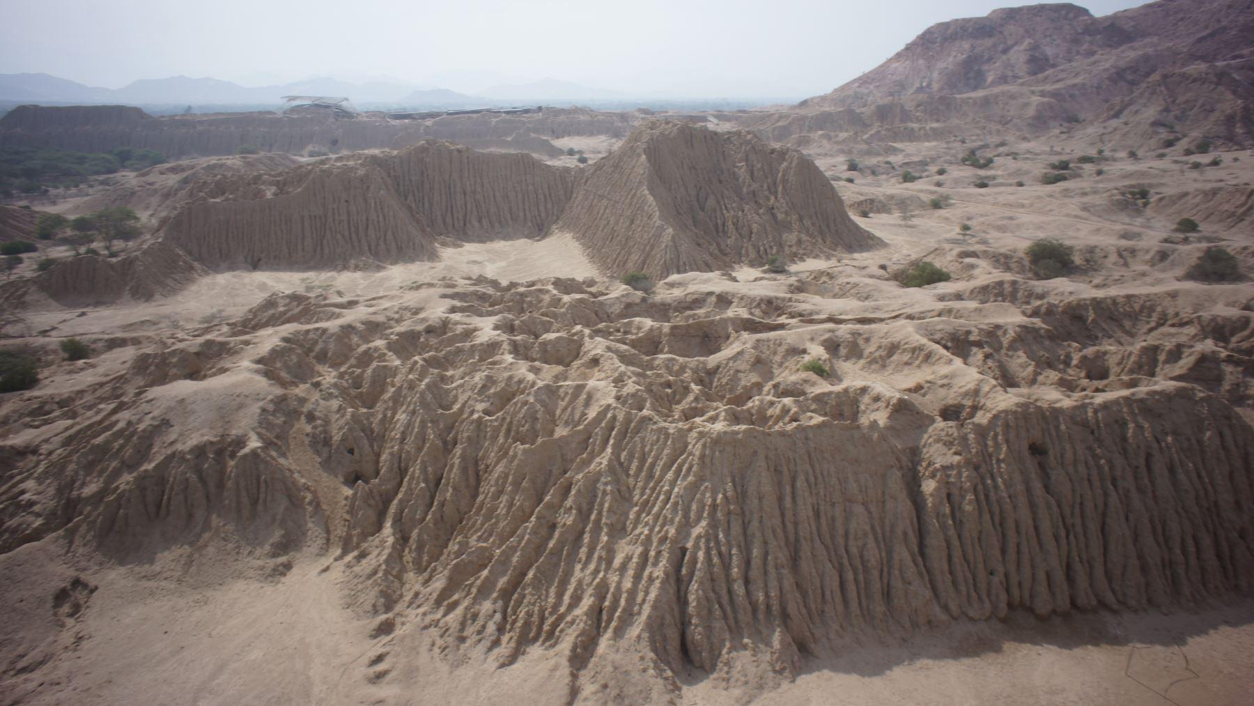 Iniciarán investigación arqueológica en complejo arqueológico de Túcume, en Lambayeque.Foto: ANDINA