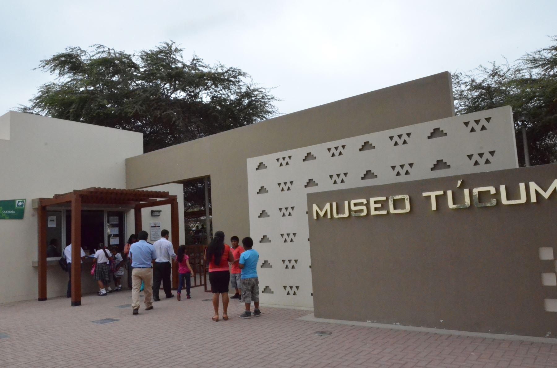 Museo Túcume, en la región Lambayeque. ANDINA