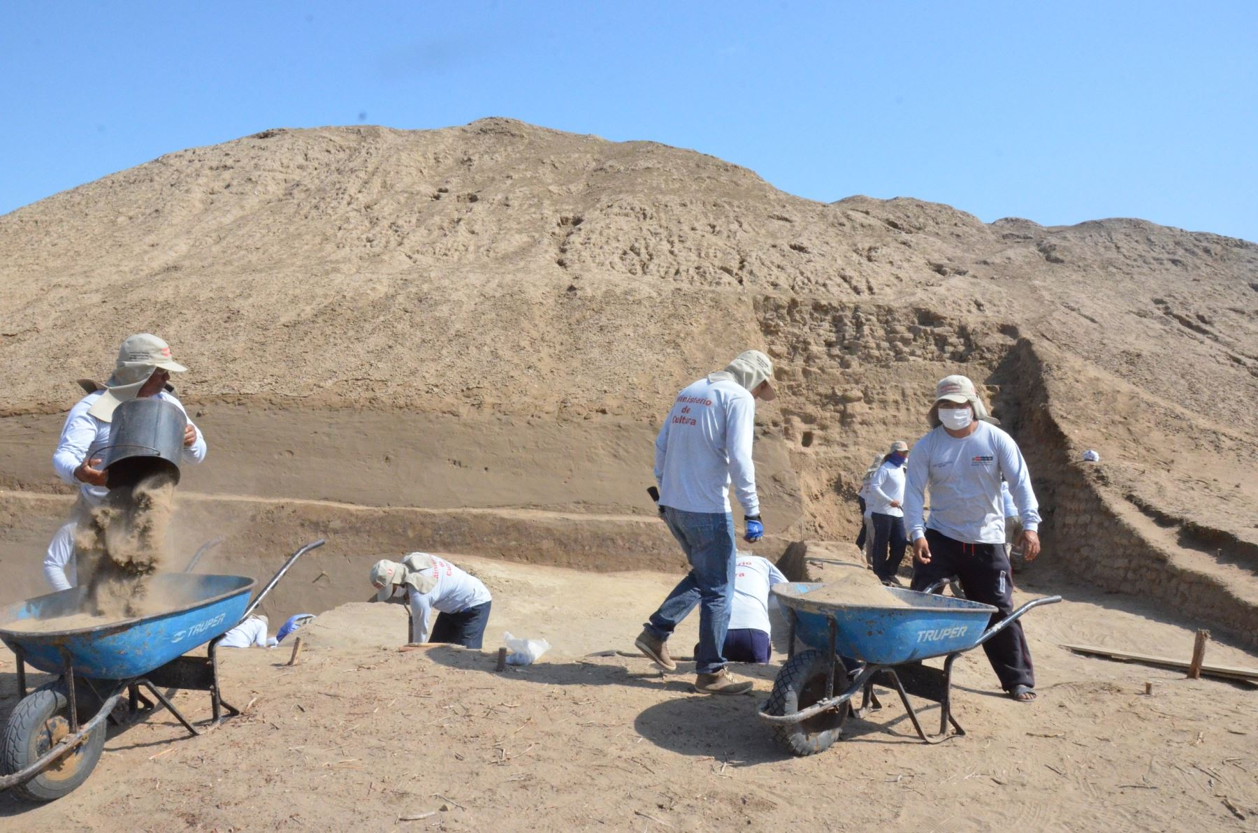 Iniciarán investigación arqueológica en complejo arqueológico de Túcume, en Lambayeque. ANDINA