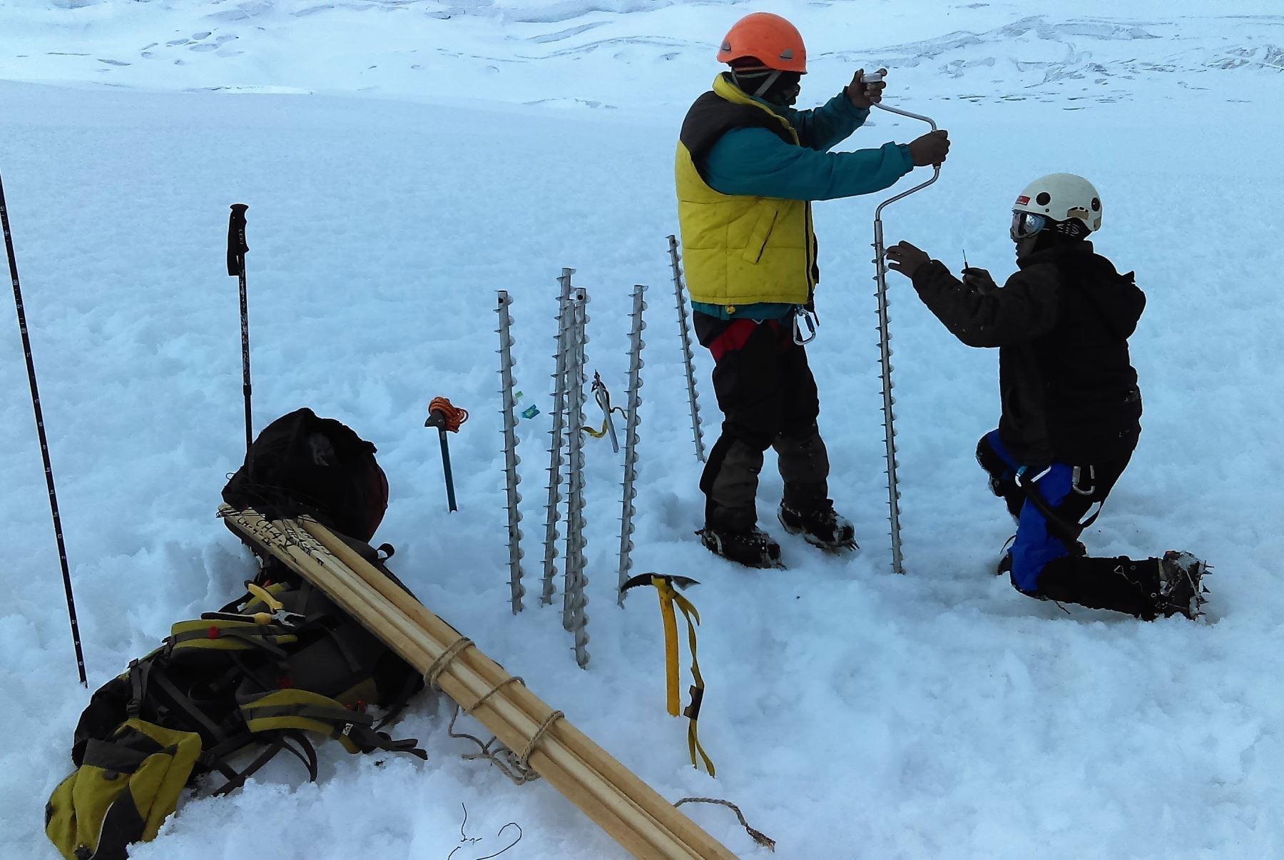 Destacan interés por investigación de glaciares y ecosistemas en el sur del Perú. ANDINA/Difusión
