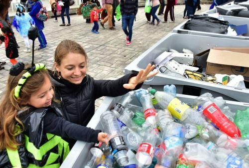 Reciclaje de envases PET. ANDINA/Difusión