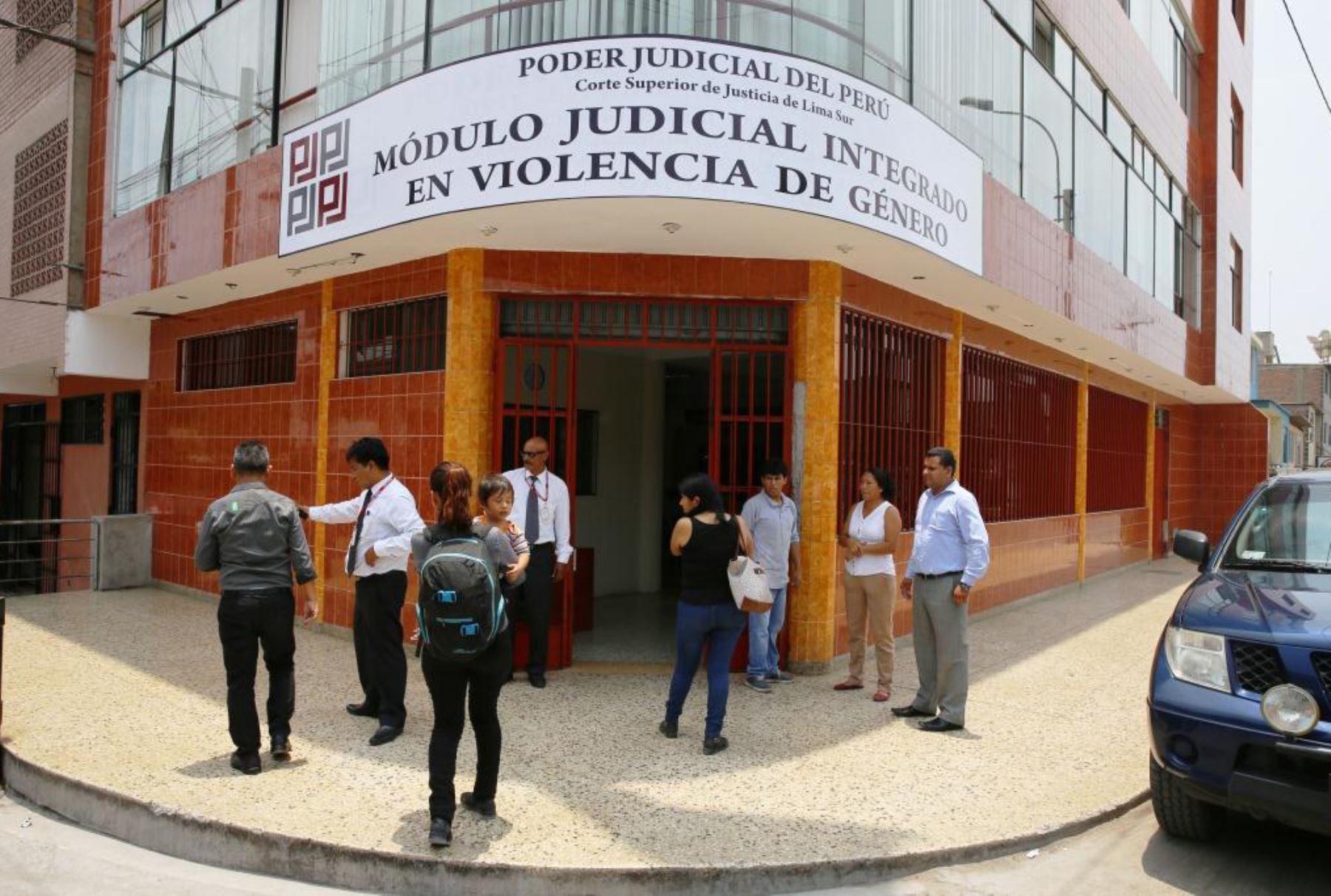 Casi 8,000 denuncias de violencia familiar recibió módulo judicial en Villa  El Salvador | Noticias | Agencia Peruana de Noticias Andina