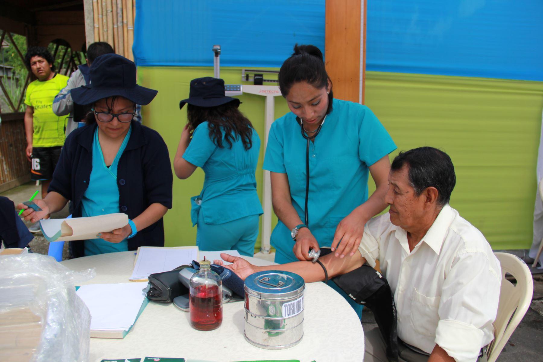 Agricultores de San Gabán, en Puno, se benefician con jornada de atención médica y desarrollo. ANDINA