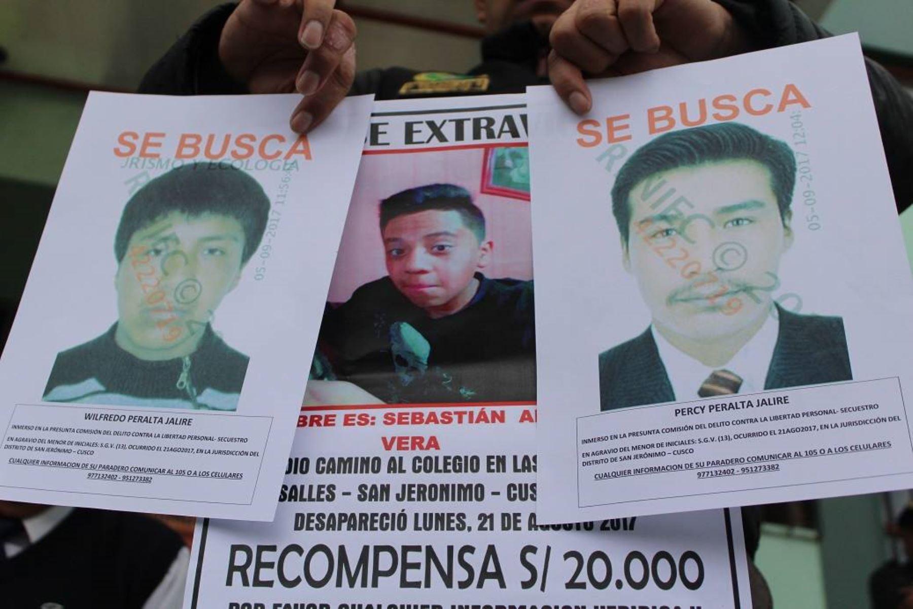 Fiscalía de Cusco solicitará prisión preventiva para asesinos de escolar. ANDINA/Percy Hurtado