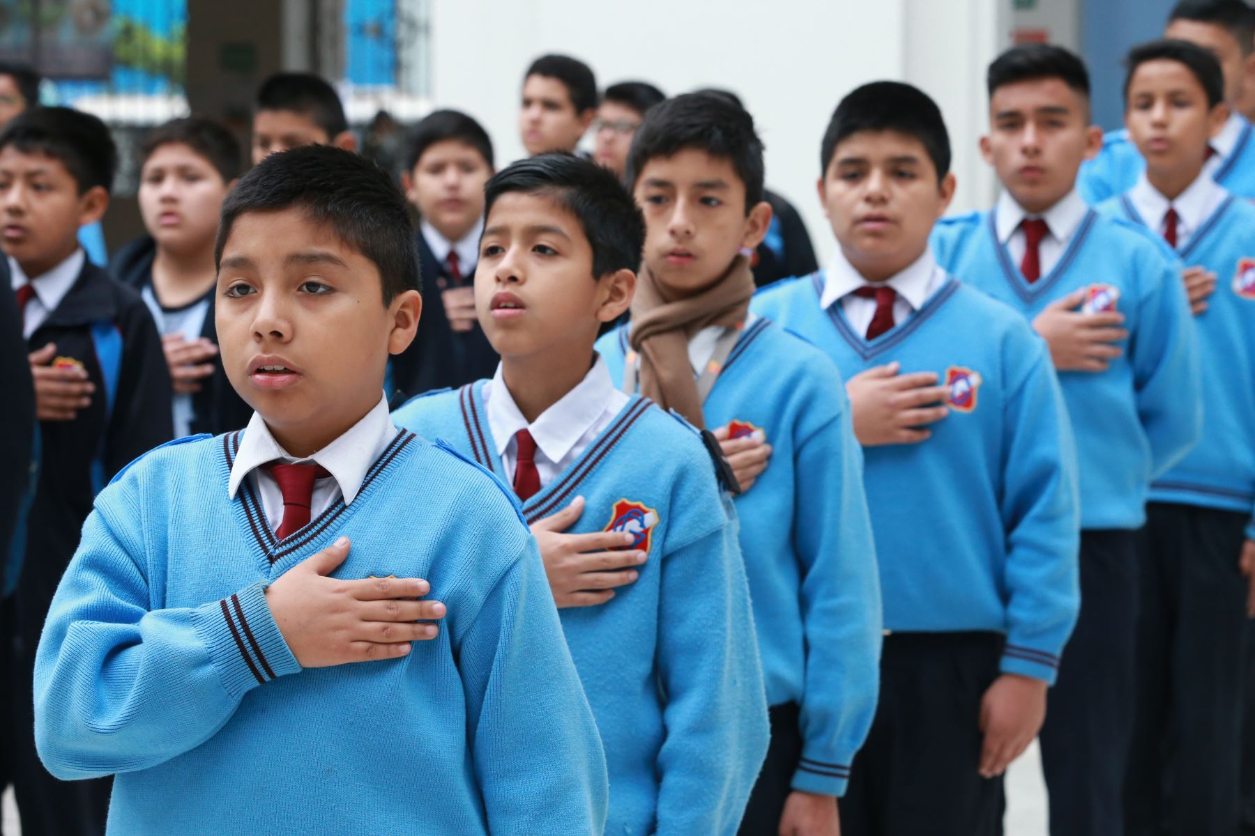Cerca de 7 millones de escolares retornarán a las aulas..ANDINA/Norman Córdova