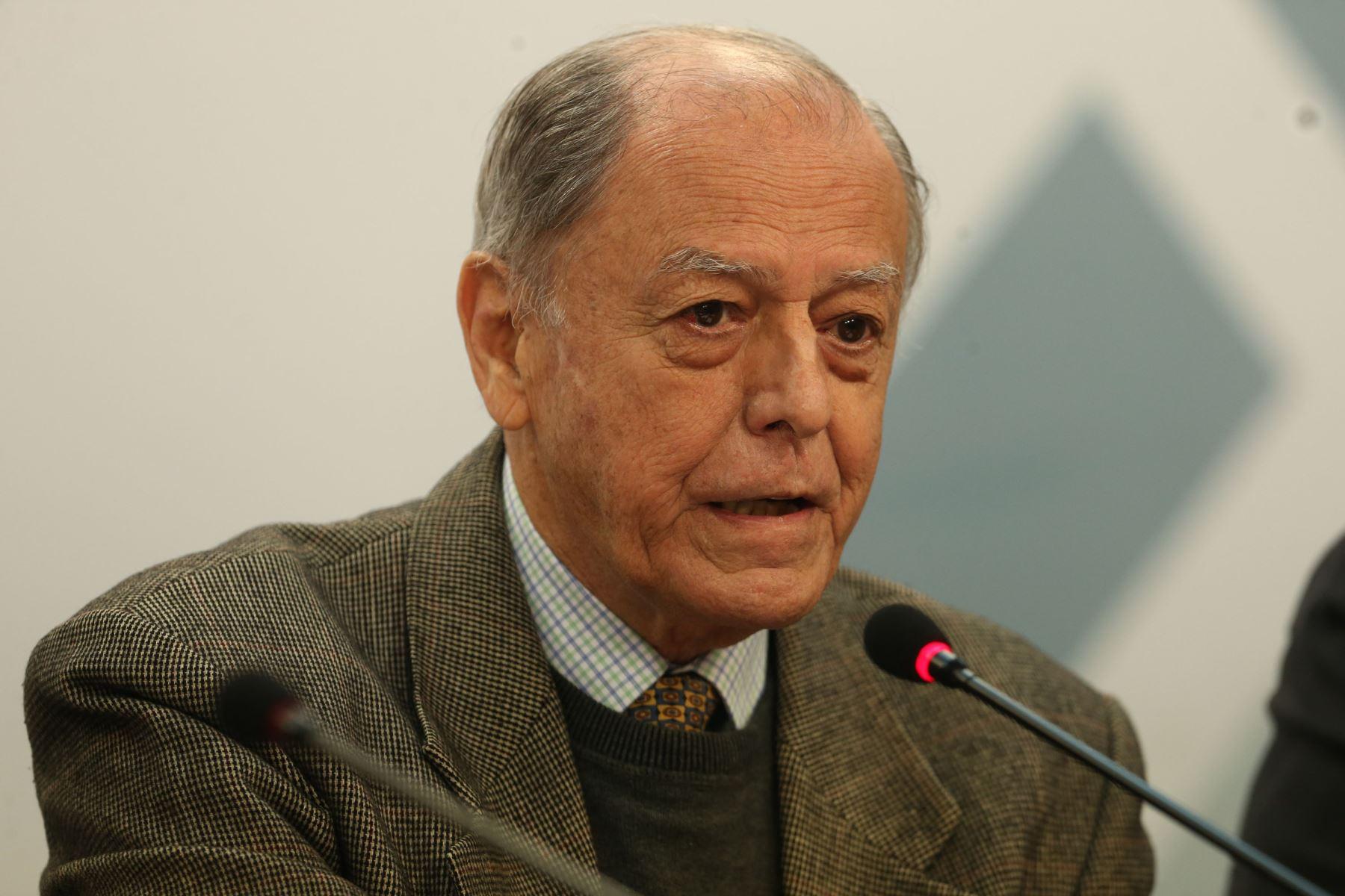 Richard Webb. ANDINA/Vidal Tarqui