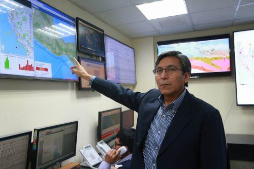Hernán Tavera, presidente del IGP. Foto: ANDINA/archivo