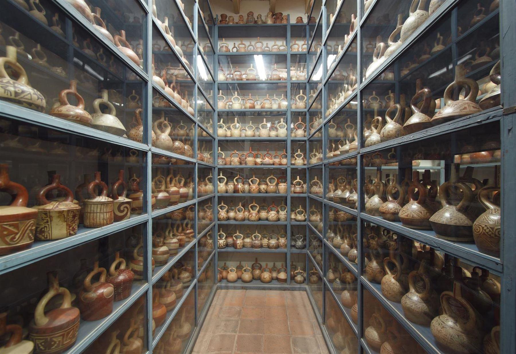 Depósitos del museo Larco en Pueblo Libre