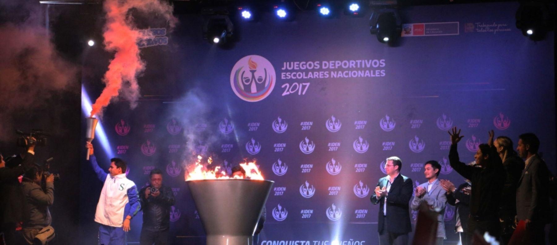Los Juegos Deportivos Escolares Nacionales albergarán a 675,000 alumnos de todo el Perú.