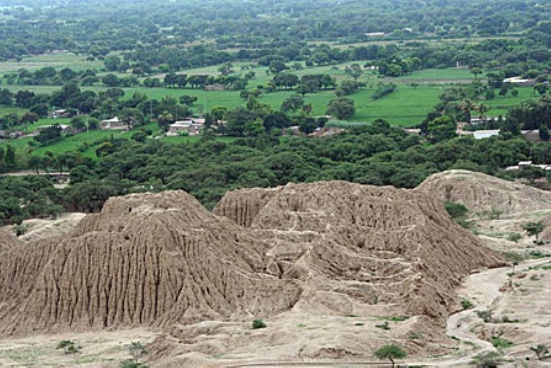 Pirámide de Túcume. FOTO: Go2Perú