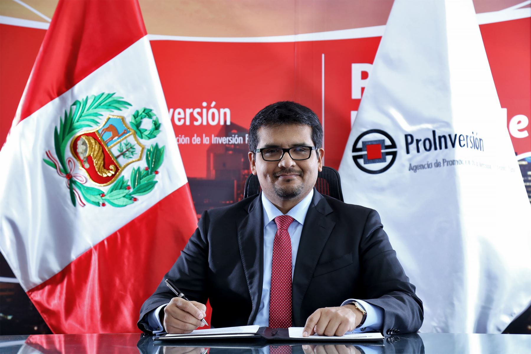 Director ejecutivo (e) de ProInversión, Alberto Ñecco. ANDINA/Difusión