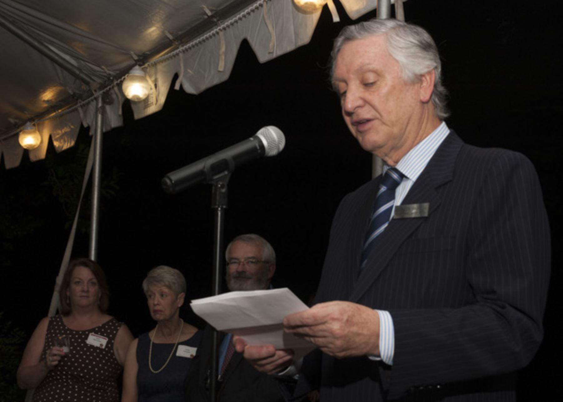 Embajador de Perú en Estados Unidos Carlos Pareja Ríos