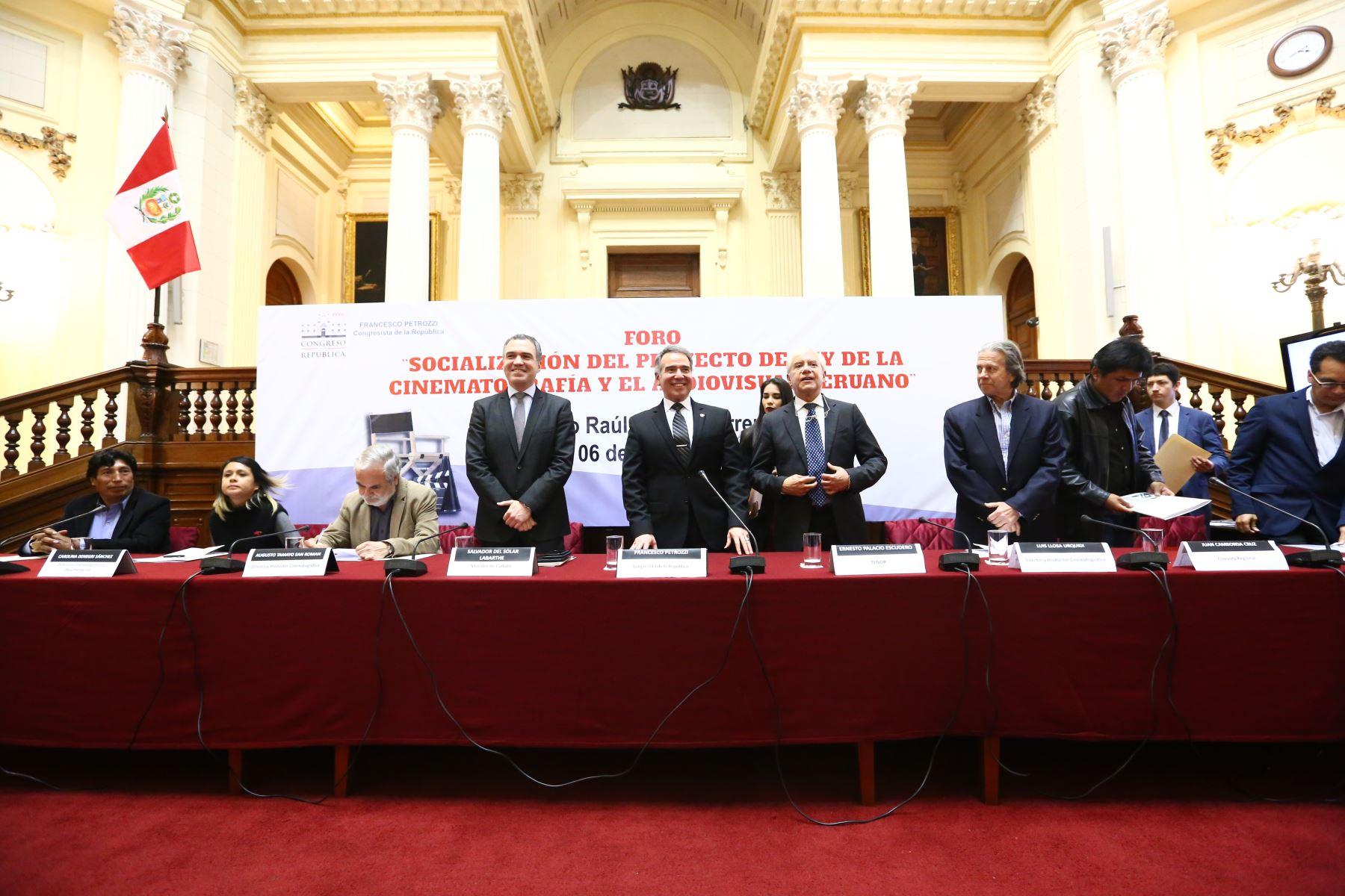 Comisión de Cultura y Patrimonio Cultural aprobará la  nueva ley de cinematografía antes de fin de año.