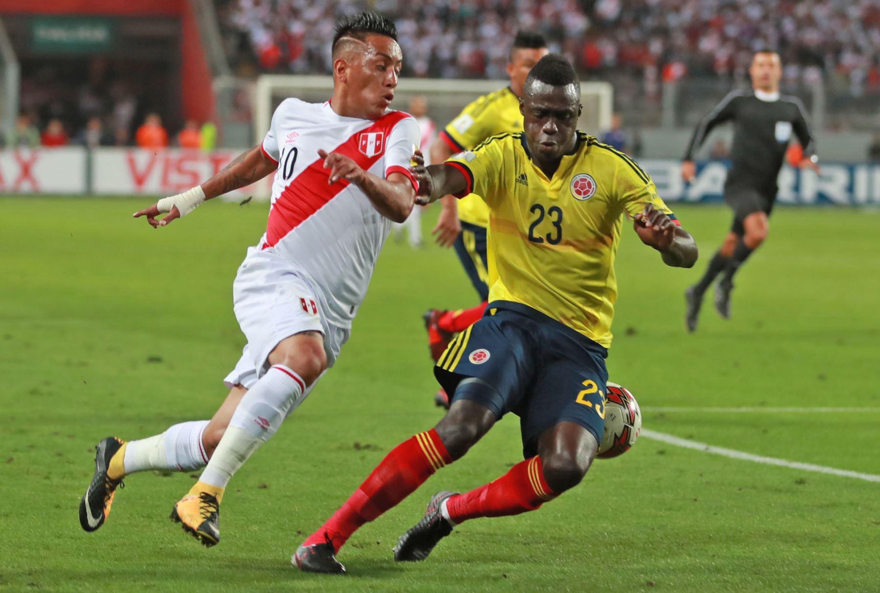 Perú y Colombia jugarán amistoso el 9 de junio en Lima