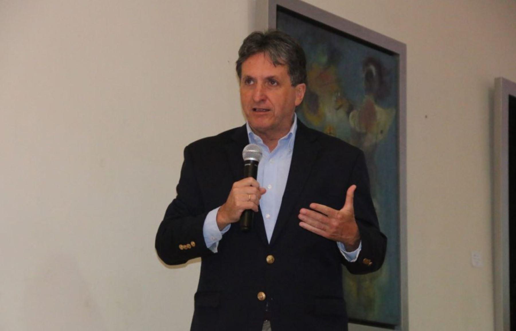 Gerente General de la Sociedad Nacional de Minería, Petroleo y Energía, Pablo de la Flor ANDINA/Difusión