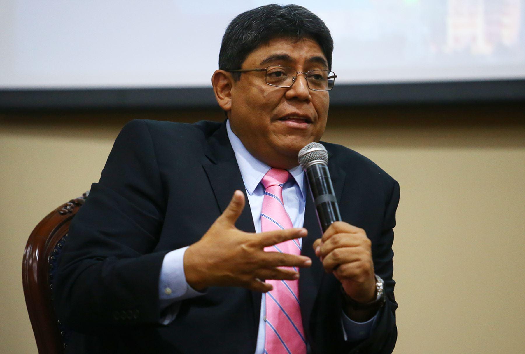 Director del Banco Central de Reserva, Elmer Cuba. ANDINA/Melina Mejía