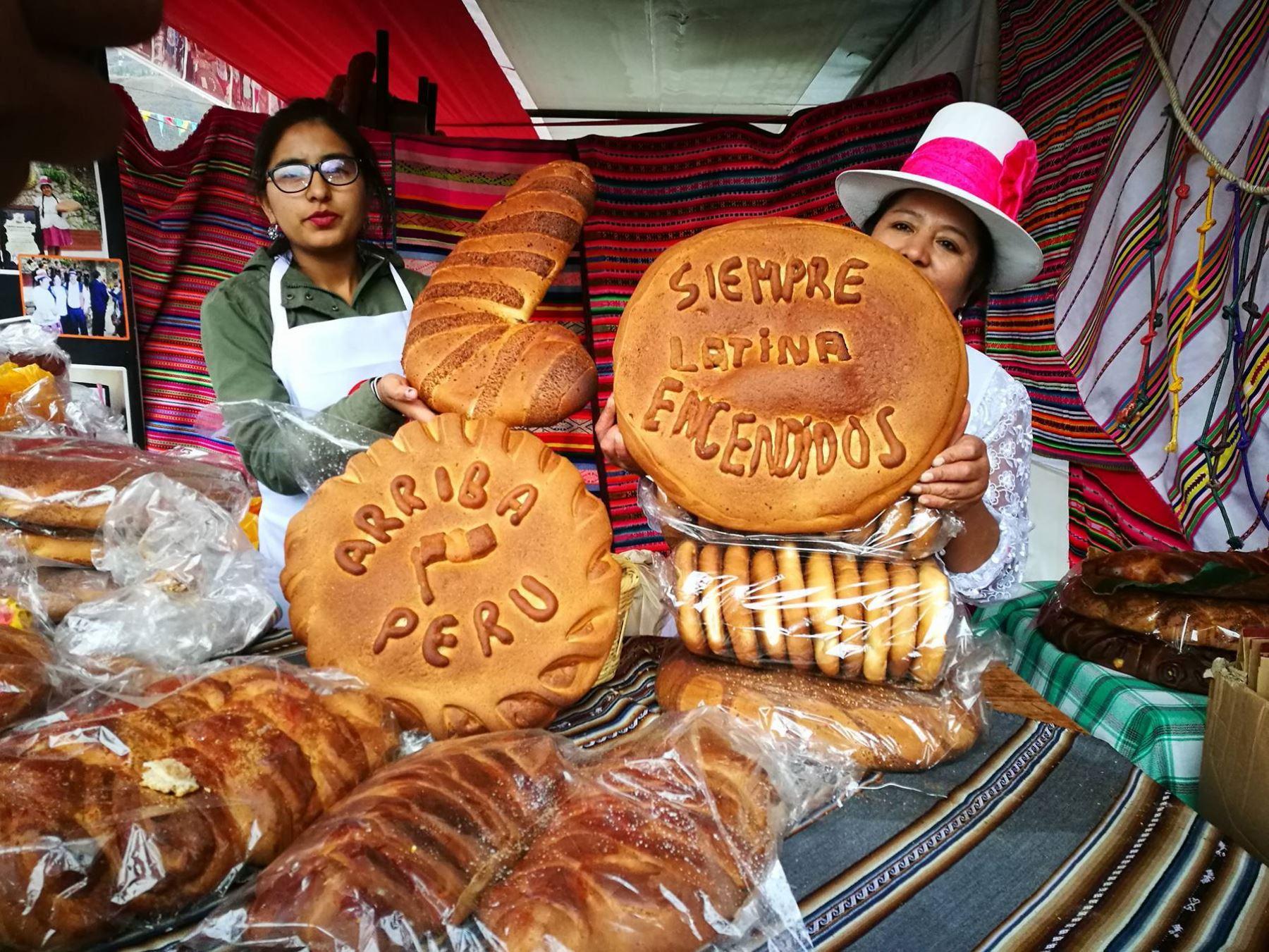 Oropesa celebró el Festival del Pan Tanta Raymi 2017. ANDINA/Difusión