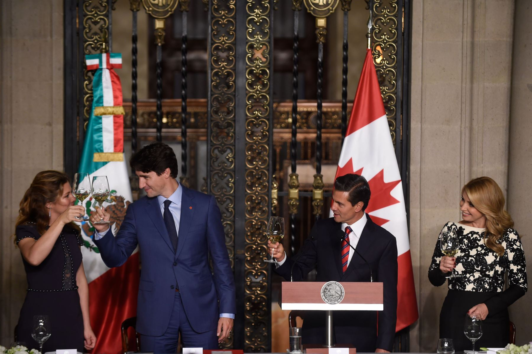 El primer ministro de Canadá, Justin Trudeau, visita México