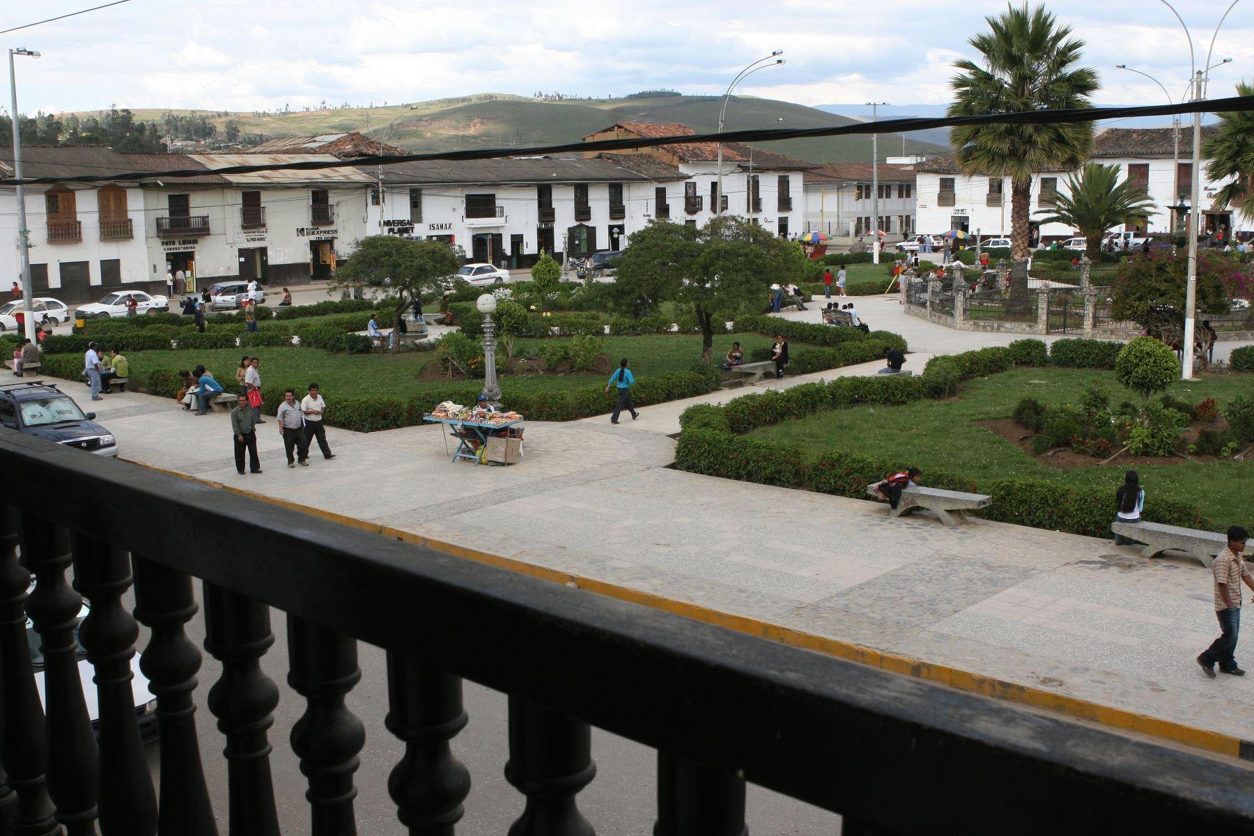 Chachapoyas, la capital del departamento de Amazonas, fue fundada por los españoles en 1538. ANDINA/archivo