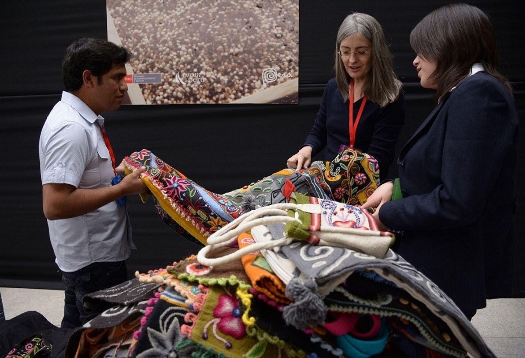 Sur Exporta lucirá mejores productos de la alpaca peruana durante rueda de negocios en Cusco. ANDINA/Difusión