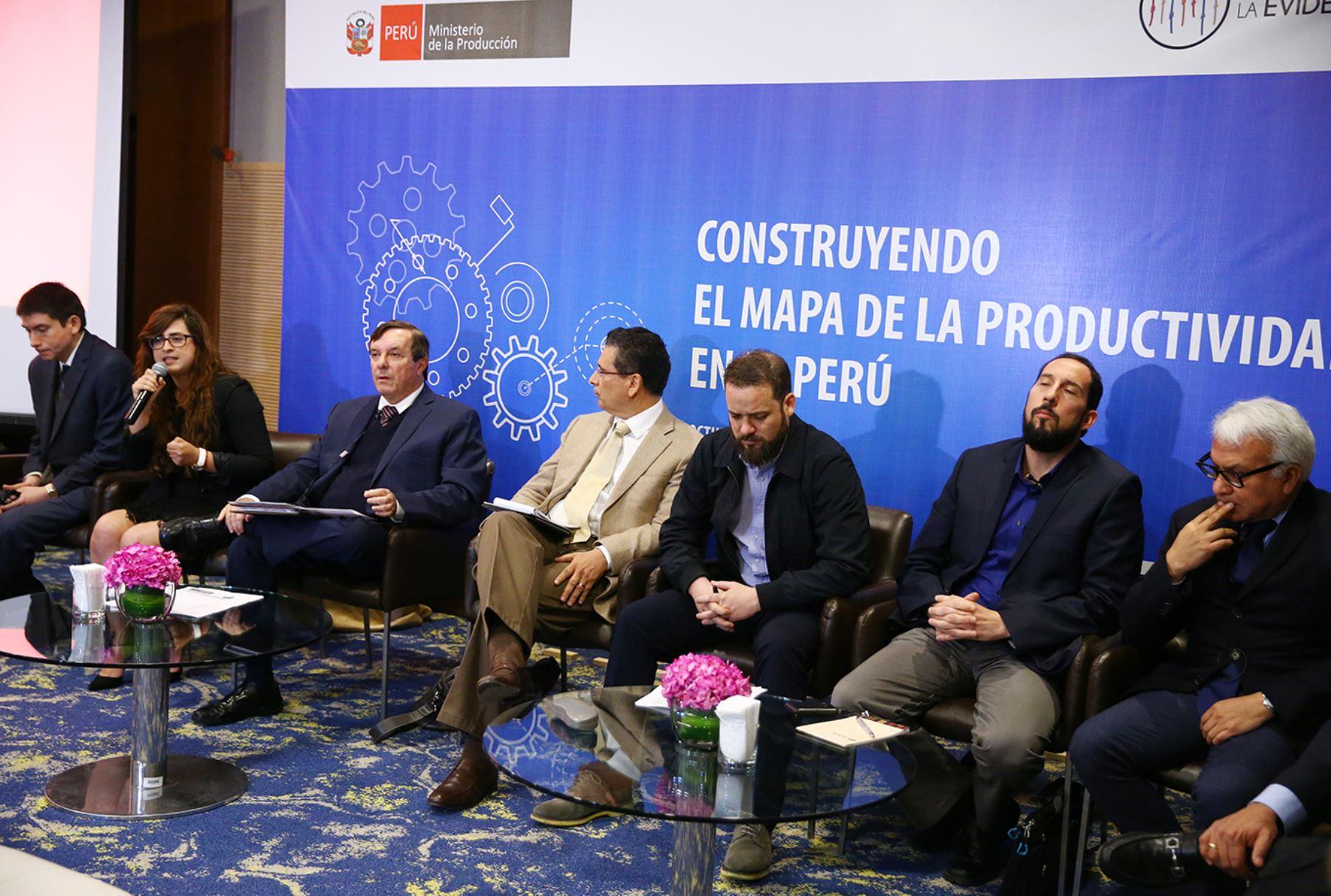 Conversatorio sobre la Productividad, organizado por el Ministerio de la Producción. ANDINA/Melina Mejía.