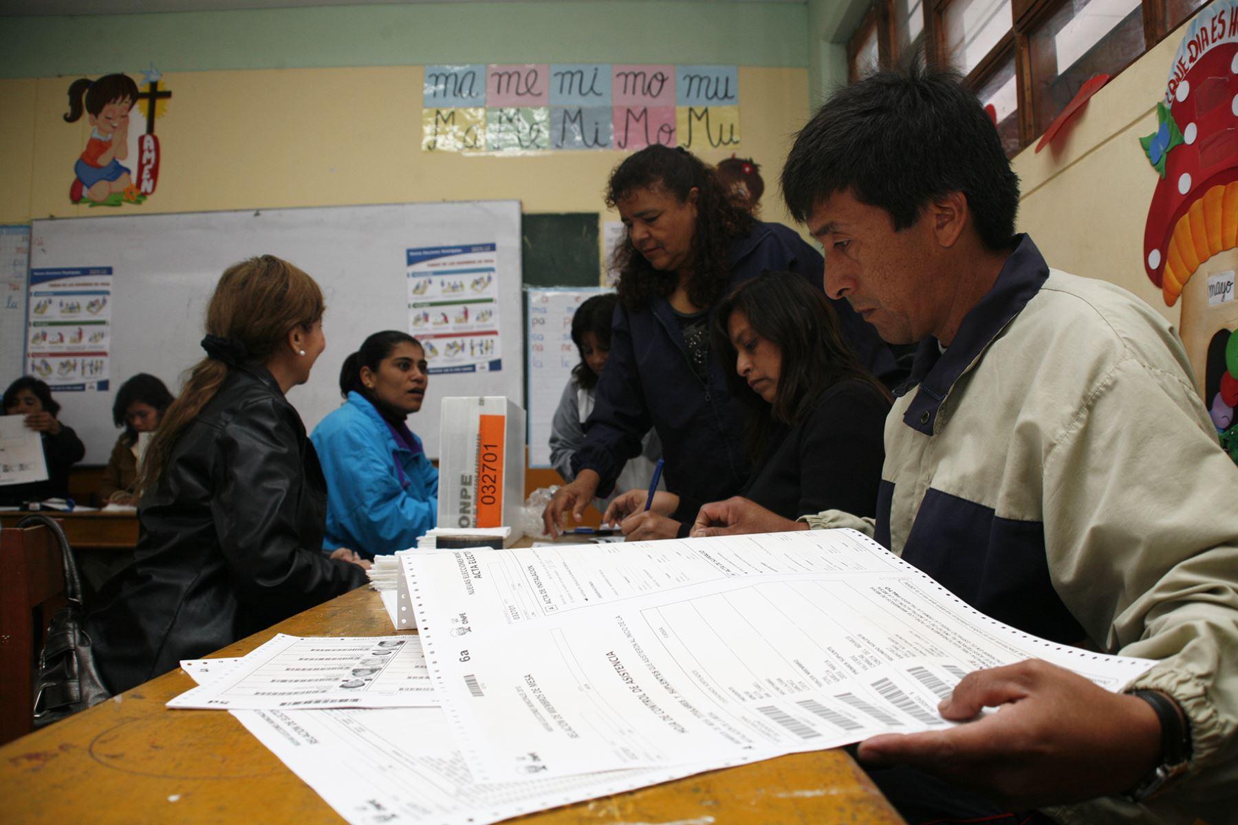 Hoy cierran el padrón electoral para elecciones municipales y regionales 2018.Foto:  ANDINA/Difusión.