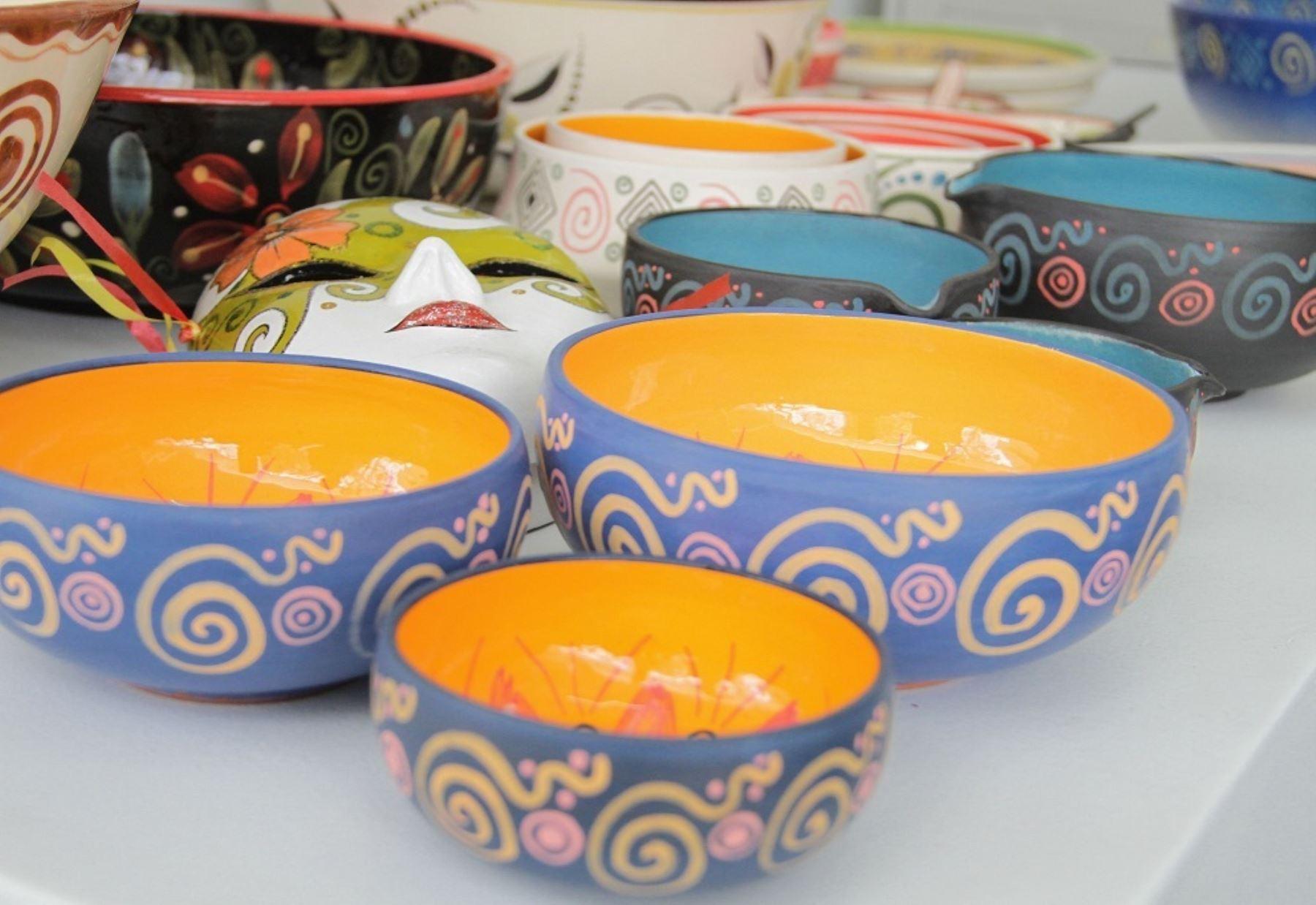 Artesanos presentan creaciones vinculadas a gastronomía en Feria Mistura. ANDINA/Difusión