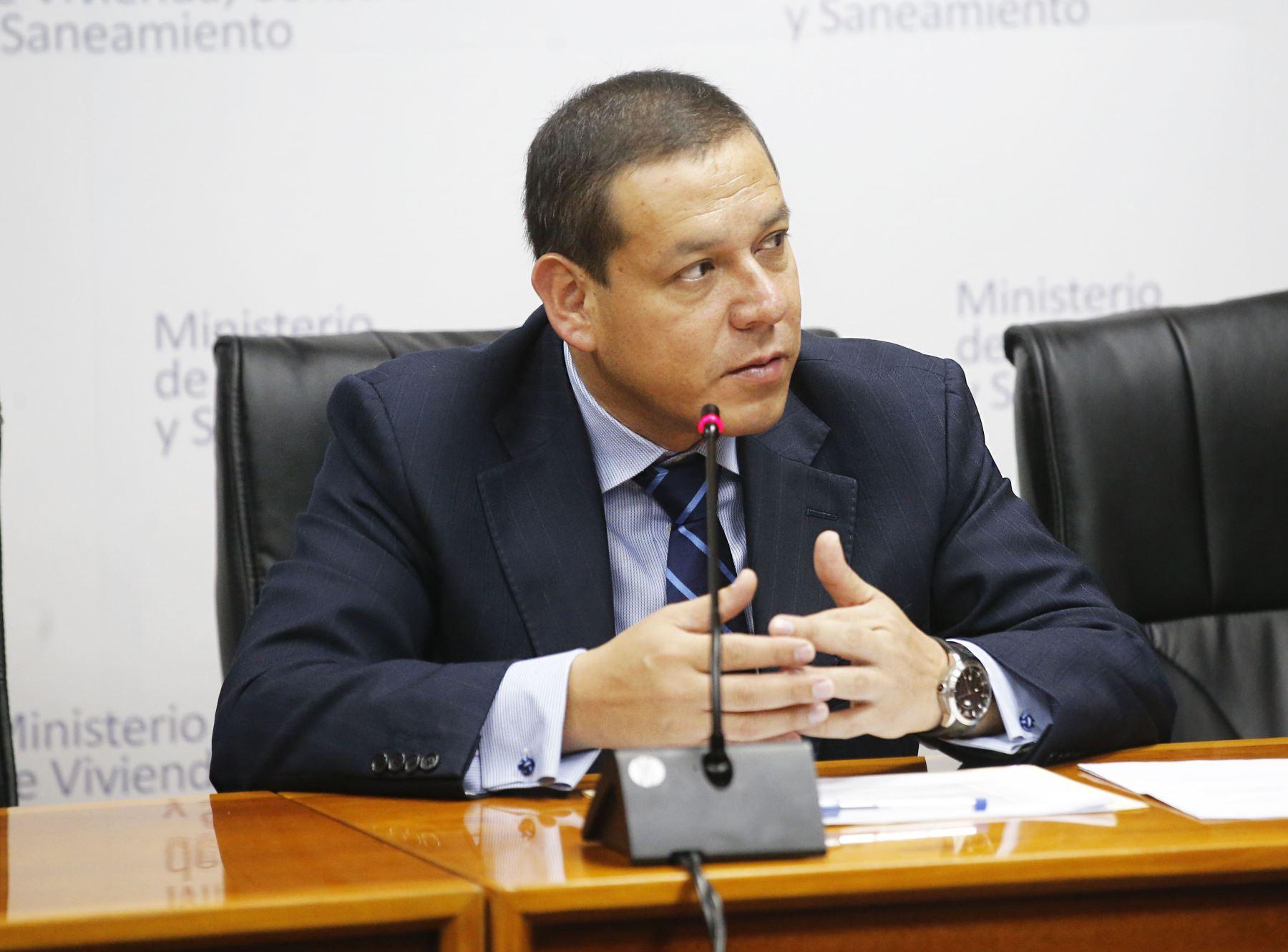 Viceministro de Vivienda y Urbanismo, Jorge Arévalo Sánchez.Foto:  ANDINA/Difusión